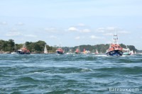 The SNSM flotilla for its 50th anniversary