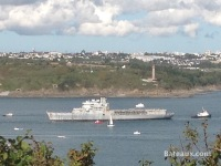 La Jeanne in the Brest Narrows
