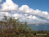 La Jeanne in the Brest Narrows - 4