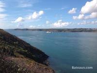 La Jeanne in the Brest Narrows - 2