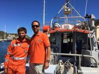 Crew of the SNS 063 CTC LHerminier II of Bonifacio